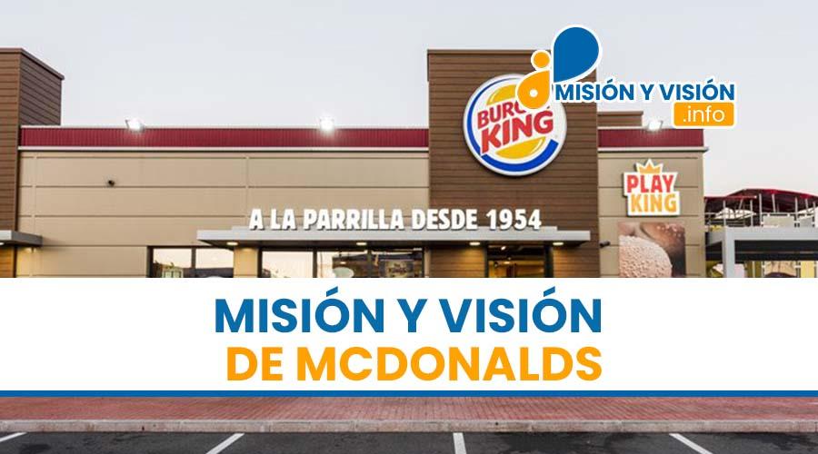 Misión y Visión de McDonalds