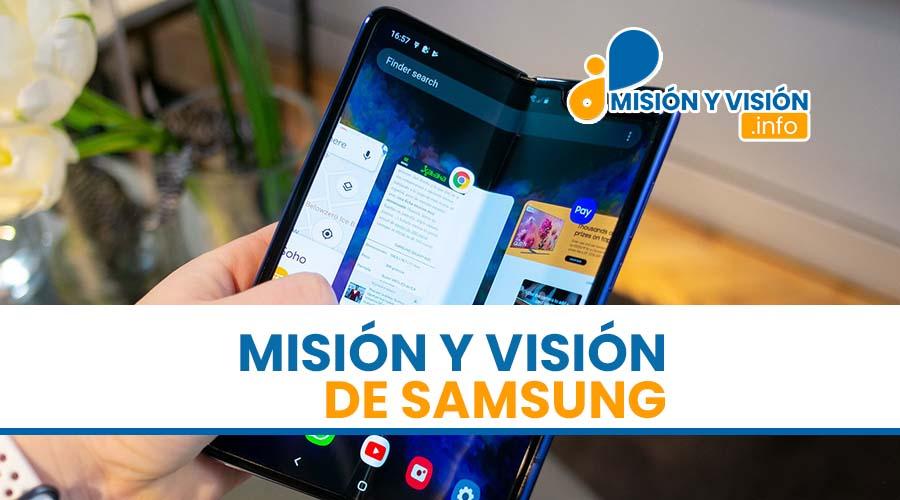 Misión y Visión de Samsung