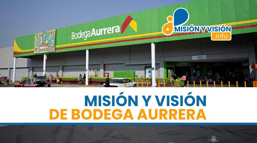 Misión y Visión de la Bodega Aurrera