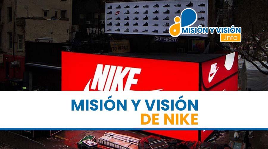 Misión y Visión de Nike
