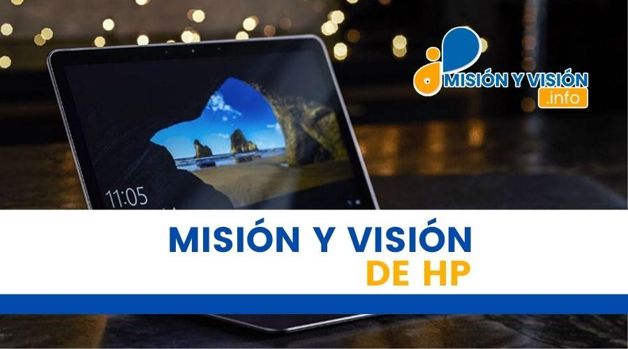 Misión y Visión de HP