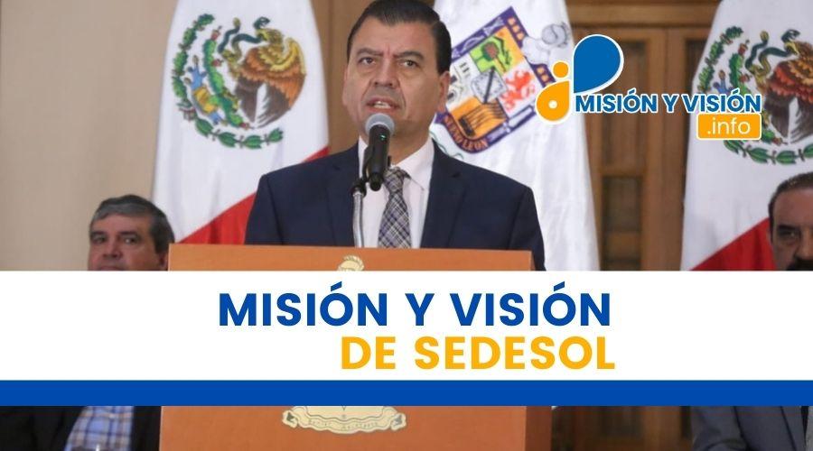 Misión y Visión de Sedesol
