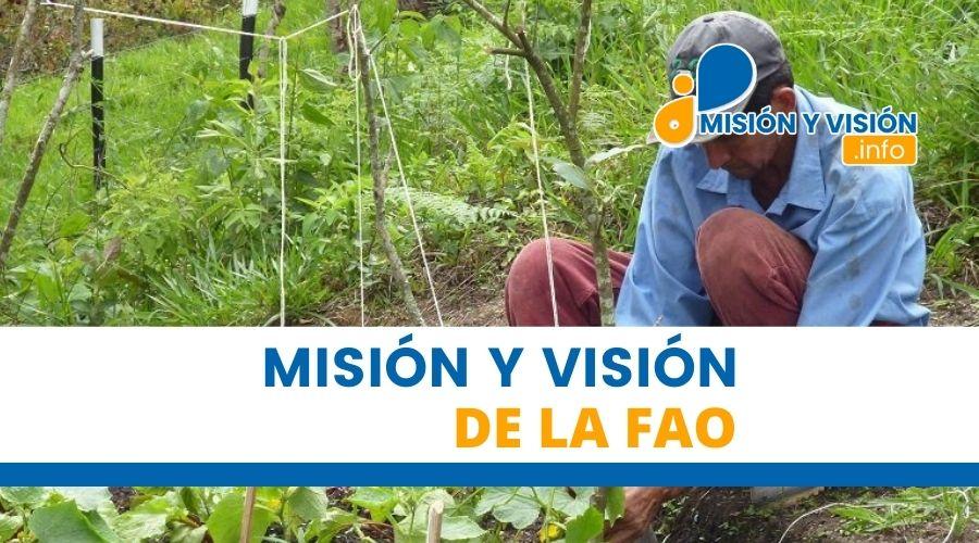 Misión y Visión de la Fao
