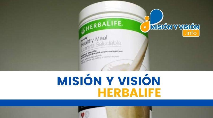 Misión y visión de Herbalife